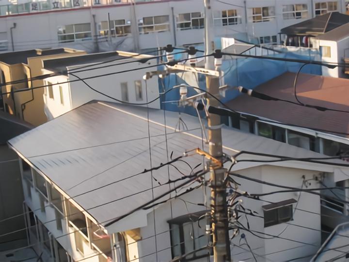 豊橋市 Aアパート 葺き替え施工事例