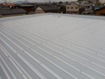 静岡県 某社様 屋根カバー工法施工事例