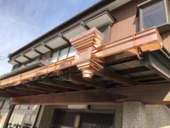 豊川市 H様邸 台風に依る樋交換施工事例