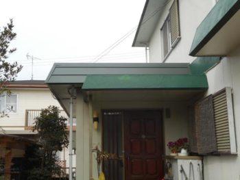 豊橋市 T様邸 台風に依る補修施工事例
