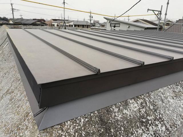 豊橋市 S様邸 台風に依る雨漏り補修施工事例