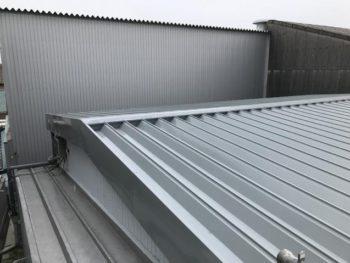 豊橋市 K社様 屋根カバー工法施工事例