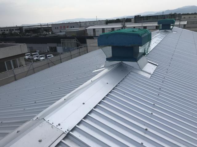 豊橋市 A社様 屋根カバー工法施工事例
